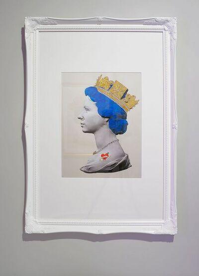 Mark Sloper, 'Blue Punk Queen Large'