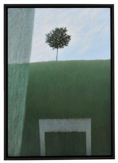 Robert Kipniss, 'Window w/Curtain & Hill.', 2013
