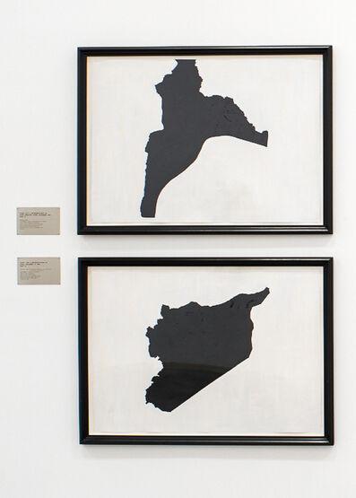 Renée Petropoulos, 'Study For A Representation of Syria', 1989-1990