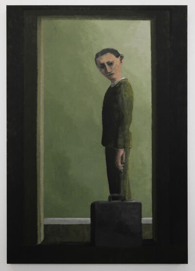 Lenz Geerk, 'Untitled (Man with Briefcase)', 2019