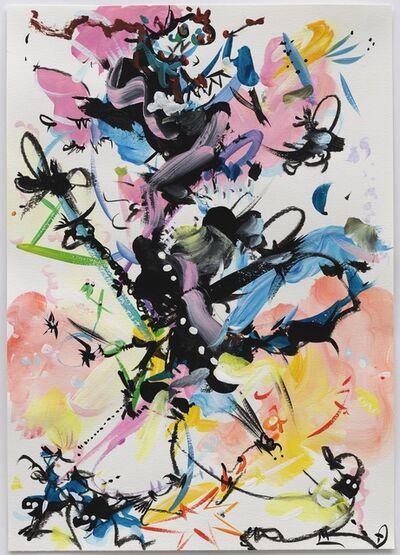 Fiona Rae, 'Gouache (mirror, mirror)', 2016