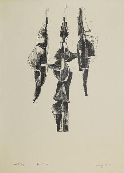 Dimitri Hadzi, 'Scudi Series', 1961