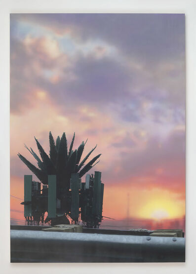 Sayre Gomez, 'Palm Tower', 2019