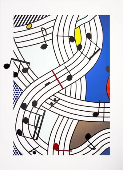 Roy Lichtenstein, 'Composition 1', 1996