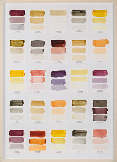 Susana Mejía, 'Carta de Color I', 2015