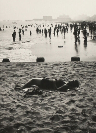 Ray K. Metzker, '68 FU - 44, Sand Creatures', 1968