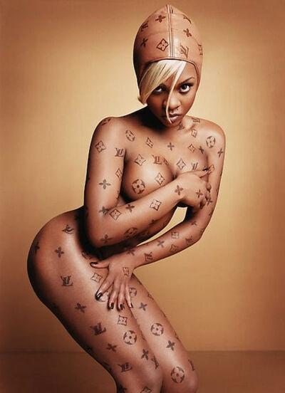 David LaChapelle, 'Lil' Kim: Luxury Item', 1997