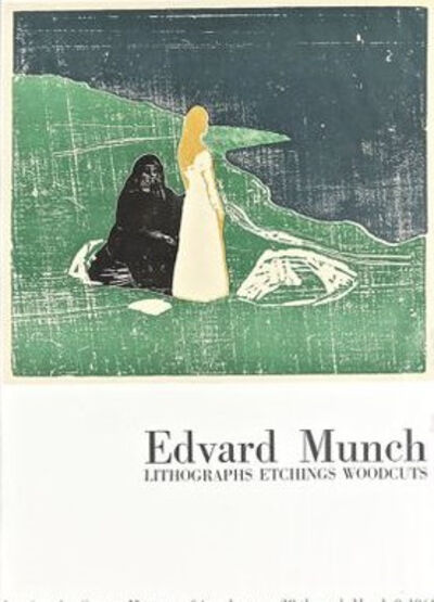 Edvard Munch, 'LA Exhibition 69 Lithographic Poster', 1969