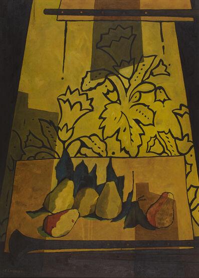 Felice Casorati, 'Pere E Flauti', 1947