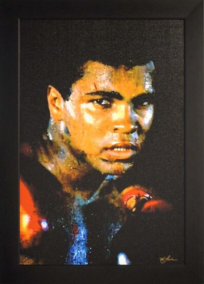 Mark Lewis (American, b. 1958), 'Limited Edition Giclee 'Affirmation Realized - Muhammad Ali' Celebrity Pop Art, Famous People Artwork', 2017