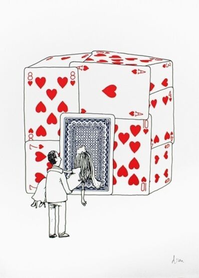 "dran, 'DRAN- ""HOUSE OF CARDS"" SIGNED & NUMBERED BY ARTIST', 2015"