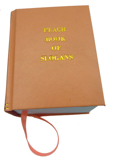 Kiri Dalena, 'Peach Book of Slogans', 2014