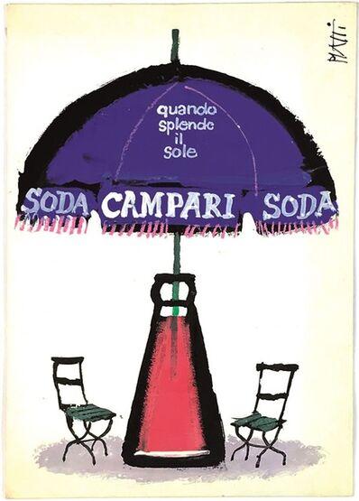 Mingozzi Studio, 'CAMPARI SODA', ca 1955