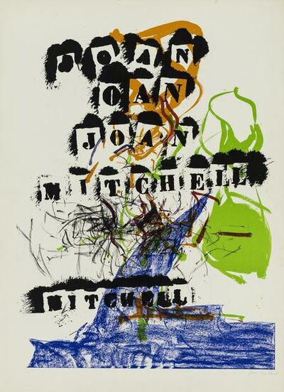 Joan Mitchell, 'Untitled', 1969