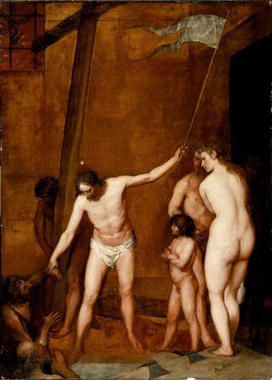 Alonso Cano, 'Christus in der Vorhölle', ca. 1655