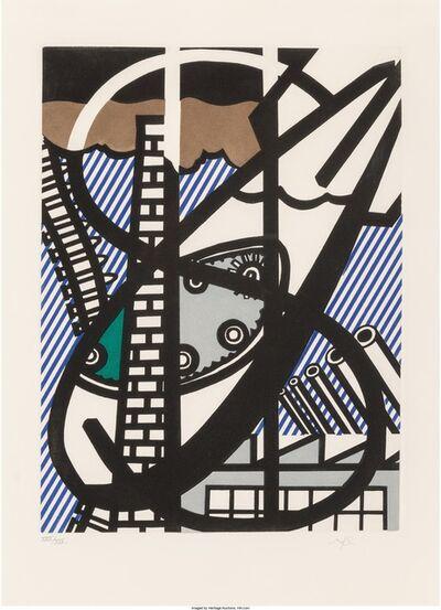 Roy Lichtenstein, 'Windown Open on Chicago', 1992