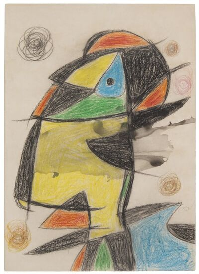 Joan Miró, 'Personnage', 1979