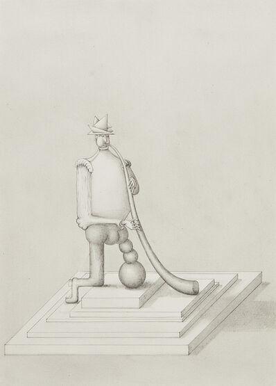 Paul Noble, 'Troubadour with Mountain Horn', 2011