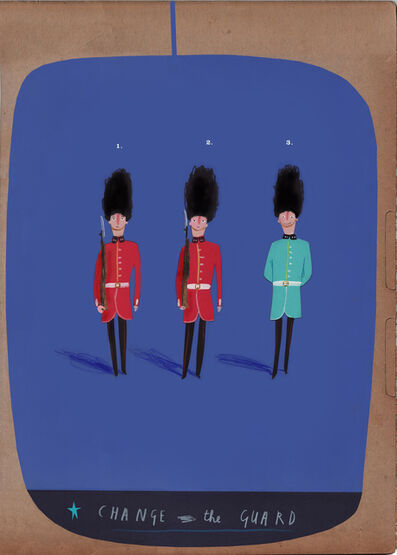 Oliver Jeffers, 'Change the Guard', 2009