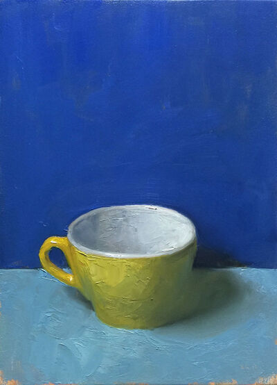 Kenny Harris, 'Yellow Cup (Sant'Eustachio, Rome)', 2019