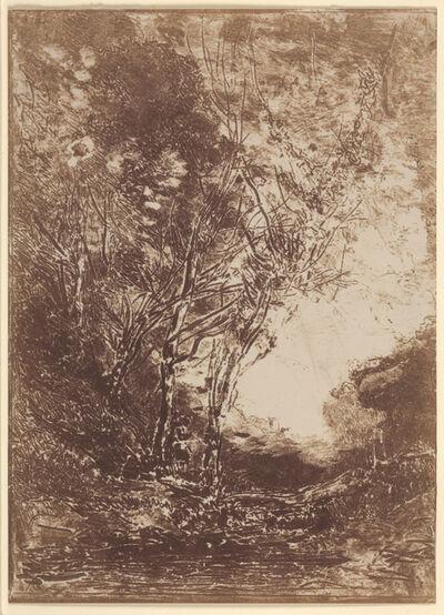 Jean-Baptiste-Camille Corot, 'The Ambush', 1858