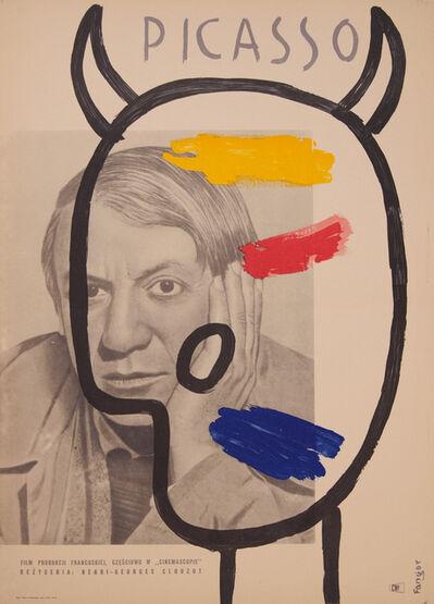 Wojciech Fangor, 'LE MYSTERE PABLO PICASSO', 1956