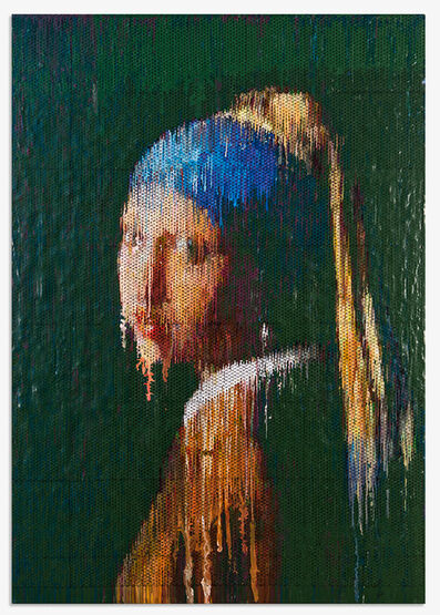 Bradley Hart, 'Girl with a Pearl Earring Interpreted (Impression)', 2014