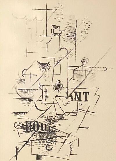 Georges Braque, 'Papiers Collés III', 1963