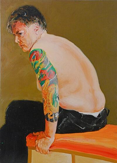 Alphonse van Woerkom, 'Kevin's Tattoo', 2016