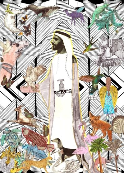 Amalie Beljafla, 'The great ruler, Sheikh Zayed Bin Sultan', 2016