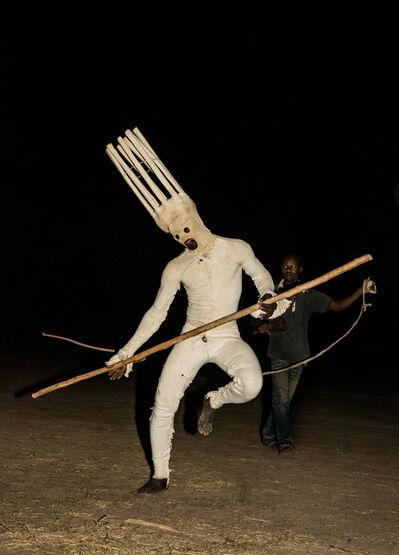 Carol Beckwith and Angela Fisher, 'Dancing Lunar Masks, Burkina Faso', 2014