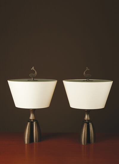 Promemoria, 'Misultin, Pair of table lamps', vers 1980