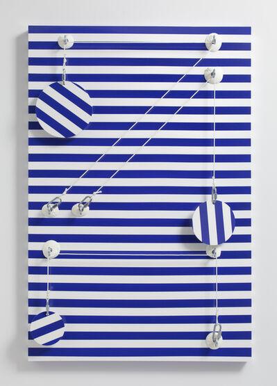 Joshua Saunders, 'Blue_Stripes', 2016