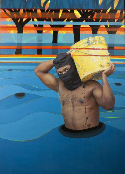 "Suekí, '""Sand Fisherman (Pescador de Areia)""', 2020"