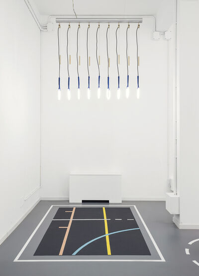 Alberto Biagetti and Laura Baldassari, 'Yoga nero', 2015