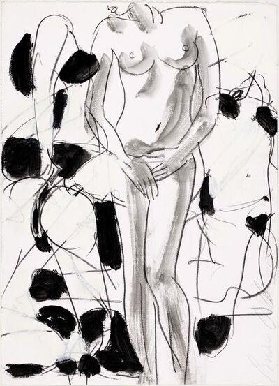 Luciano Castelli, 'Stehender Akt', 2010