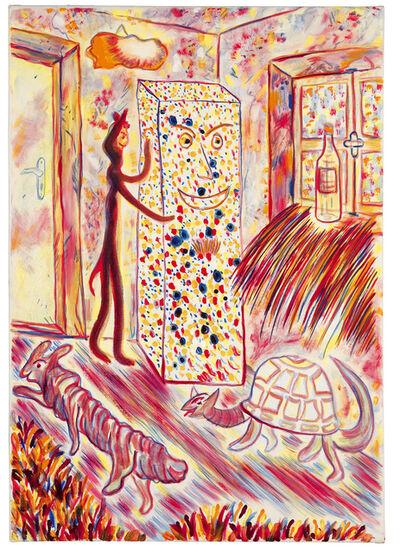 "Alfred Klinkan, '""Schilderijen uit Freising/Styroporblock""', 1979"