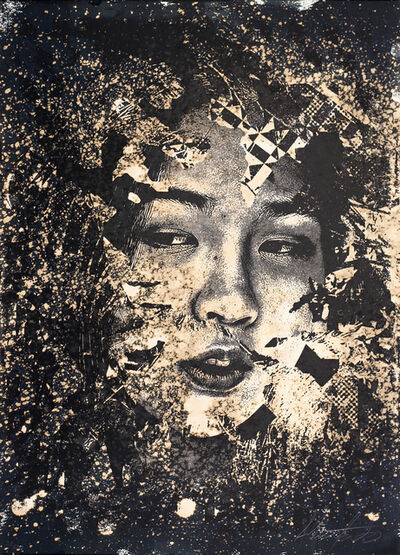 Vhils, 'Subsume 2', 2019