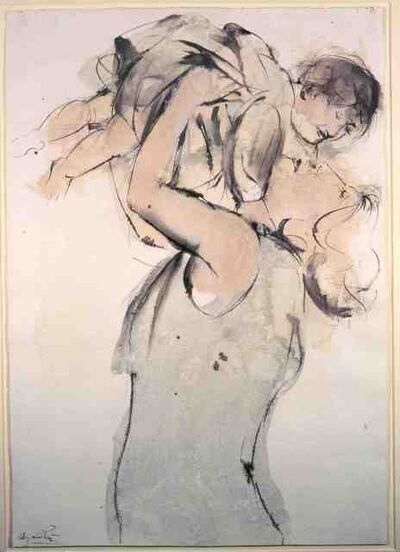 Giacomo Manzù, 'Mother and Child', 1979