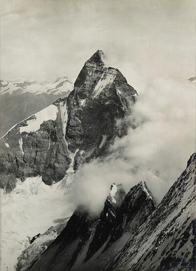 Vittorio Sella, 'Cervino, dai pressi della vetta del Dent d'Hérens', 1885
