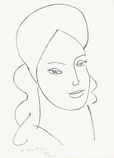 Henri Matisse, 'Saint Catherine', 1946