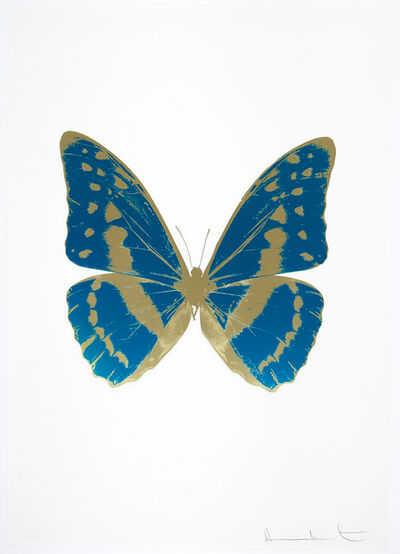 Damien Hirst, 'The Souls III - Turquoise/Cool Gold/Cool Gold', 2010
