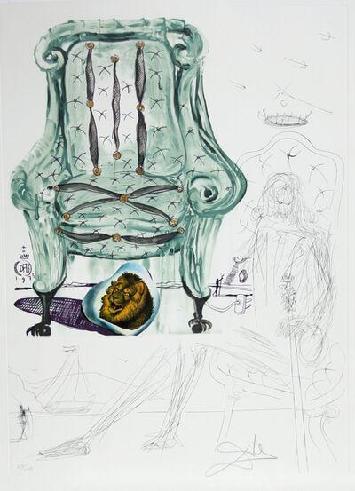 Salvador Dalí, 'Breathing Pneumatic Armchair', 1975