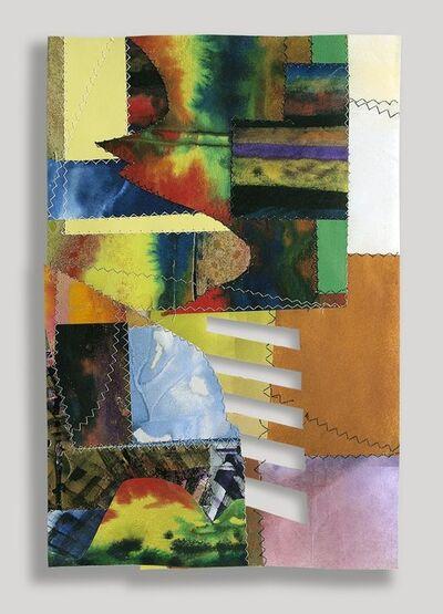 Sam Gilliam, 'Peru Collage V', 2000