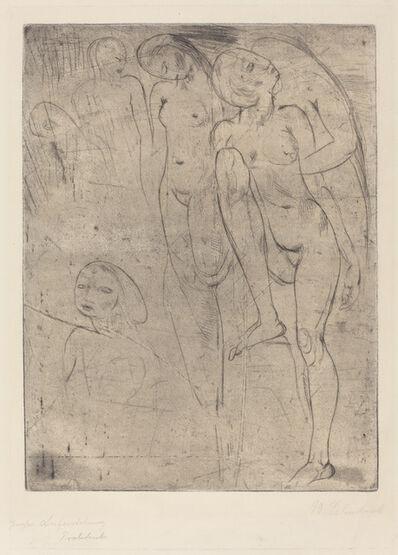 Wilhelm Lehmbruck, 'Large Resurrection (Grosse Auferstehung)', 1913