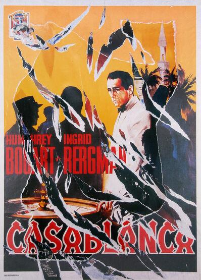 Mimmo Rotella, 'Casablanca II', 2004