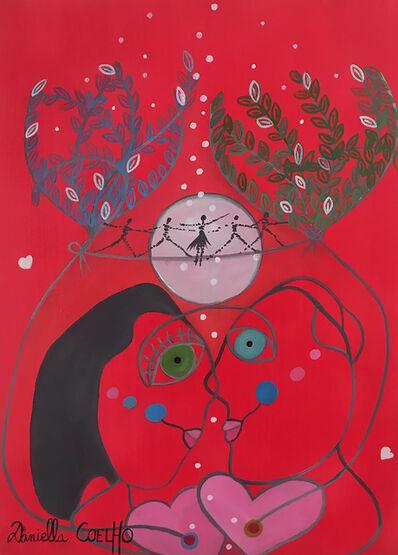 Daniella Coelho, 'Les amoureux et la Lune', 2020