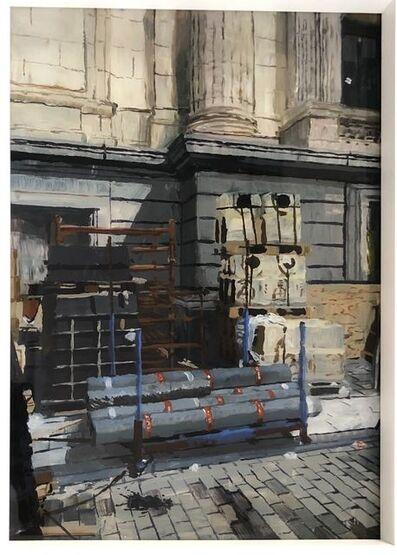 Isabella Kuijers, 'Building site, Brussels', 2019
