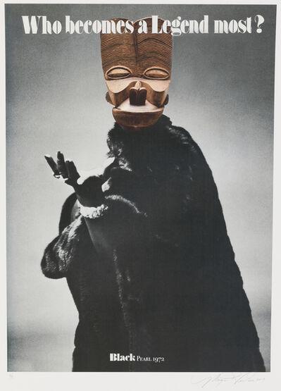 Margaret Rose Vendryes, 'Blackglam Legends: Black Pearl 1972', 2019
