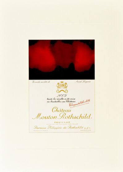 Anish Kapoor, 'Gouache inedite de Anish Kapoor', 2009